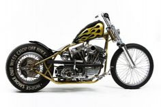 Bone Crusher=Dream bike! Built by the world famous Indian Larry