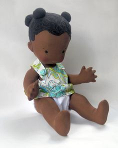 Naomi- 18 Vintage Inspired Cloth Baby Doll