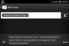 #MostcommonTrue dear @instagram