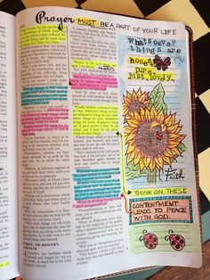 My late husband's wide margin Bible would be wonderful to do this in. Leave my special verses for my daughter and future grandchildren.  Love it. Bible Journalling