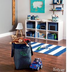 Stand Tall Bin $50, rectangular cube $25, Thirty One has all your essentials to organize your home  #homeorganization