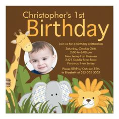 >>>Best          Photo Safari Jungle Animal Kid Birthday Party Announcement           Photo Safari Jungle Animal Kid Birthday Party Announcement We have the best promotion for you and if you are interested in the related item or need more information reviews from the x customer who are own of ...Cleck Hot Deals >>> http://www.zazzle.com/photo_safari_jungle_animal_kid_birthday_party_invitation-161716270782493404?rf=238627982471231924&zbar=1&tc=terrest