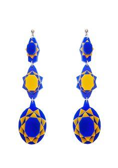 Baguera Vectory Earrings Sunset