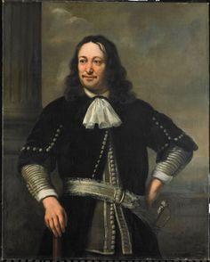 Ferdinand Bol - Portret van een zeeoverste