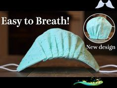 New Design - Breathable Face Mask Tutorial|It doesn't touch mouth and nose @DIY Trefa  <br> Small Sewing Projects, Sewing Hacks, Sewing Tutorials, Sewing Crafts, Easy Face Masks, Homemade Face Masks, Diy Face Mask, Diy Mask, Creation Couture