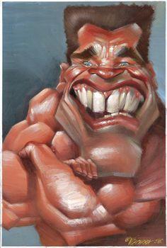 [ Arnold Schwarzenegger ] - artist: Joan Vizcarra - website: http://www.vizcarra.info