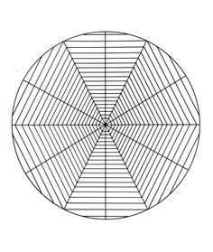 Free coloring page «free-mandala-to-color-spider-cobweb». like the cobweb of a little spider ...