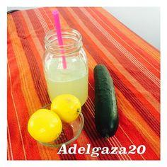 adelgaza20 El verano se aproxima es tiempo de tener un abdomen plano y de empezar a prepararnos, esta agua No sólo es refrescante, desintoxica y te ayuda a quemar grasa.  Agua de pepino y limón.
