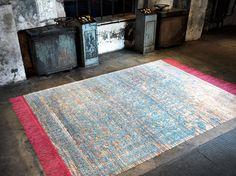 """Ferrara Radi Rocked"" rug by Jan Kath Minimalist Design, Modern Design, Jan Kath, Classical Elements, Lets Stay Home, Floor Art, Space Architecture, Magic Carpet, Carpet Design"