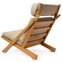 Lounge Chair by Hans J. Wegner | From a unique collection of antique and modern lounge chairs at https://www.1stdibs.com/furniture/seating/lounge-chairs/