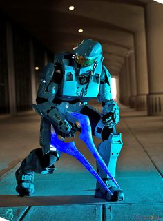 Spartan Armor from Halo More at http://dailycosplay.com/2014/May/15b.html