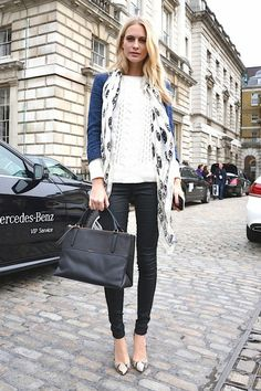 How to Wear a Scarf: 4 Ways to Upgrade the fall Essential | StyleCaster