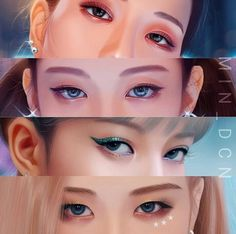 Cruel eyes of our beauties❤️❤️❤️ asifitsyourlast boombayah killthislove stay blink manoban jennieblackpink roseblackpink jisooblackpink Lisa Black Pink, Black Pink Kpop, Kpop Fanart, Pink Makeup, Eye Makeup, Lisa Blackpink Wallpaper, Bear Wallpaper, Blackpink Members, Blackpink Photos