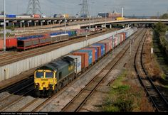 RailPictures.Net Photo: 66 505 Untitled Freight Liner 66 at Birmingham, United Kingdom by Mike Hemming