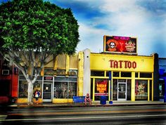 High Voltage Tattoo where LA ink is filmed