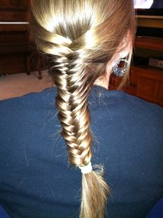 Jordan fishtail braid