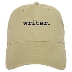 AmazonSmile  CafePress - writer. Cap - Baseball Cap with Adjustable  Closure 3293faf85e90