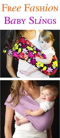 FREE Super Cute Baby Sling! {just pay s/h} - these slings make the BEST Baby Shower gifts, too! #slings #thefrugalgirls