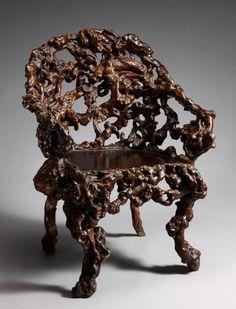 Необычная мебель из корней и коряг, 18-20 век | | Достопримечательности мира