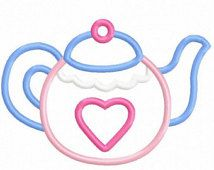 Popular items for teapot applique on Etsy
