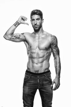 Sergio Ramos in Men's Health España (November 2012)