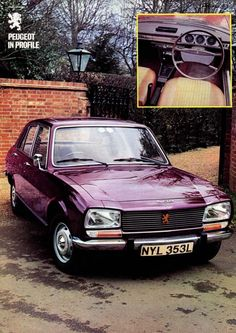 1973 Peugeot 504 advert my other blogs: www.japanesecarssince1946.tumblr.com & www.german-cars-after-1945.tumblr.com