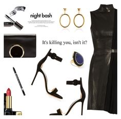 """""""Outfit of the Day"""" by dressedbyrose ❤ liked on Polyvore featuring Thierry Mugler, Gianvito Rossi, Chloé, Agmes, Ippolita, Guerlain, Bobbi Brown Cosmetics, Charlotte Russe, Louis Vuitton and ootd"""