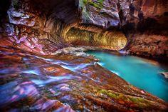 Google+Map+Zion+National+Park | The Subway, Zion Park, USA