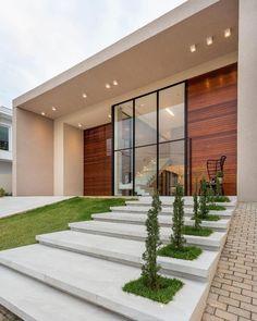 25 most popular modern dream house exterior design ideas 1 Minimalist House Design, Minimalist Home, Modern House Design, Loft Design, Design Case, Contemporary Interior Design, Contemporary Houses, Contemporary Bedroom, Contemporary Chandelier