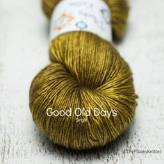 oh yeah baby, that's my colour. plucky knitter: good old days