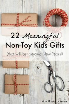 AWESOME Gift Ideas that aren't TOYS!!! Honestly, I'm so tired of ...