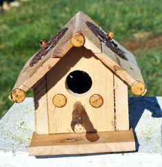 Bird HouseHand Made Bird HouseRe Purposed by GinasCornerCrafts, $29.00