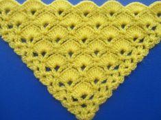 Chal a crochet # 2 tejido en p
