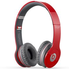 Beats By Dr. Dre Beats Solo HD Over-the-Ear Headphones - Red