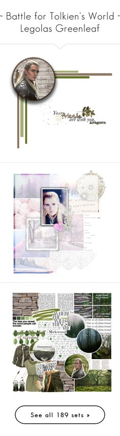 """""""~ Battle for Tolkien's World ~ Legolas Greenleaf"""" by fangirl-forever-1 ❤ liked on Polyvore featuring art, lotr, legolas, Winter, Pink, purple, yule, WALL, L.L.Bean and Sola"""