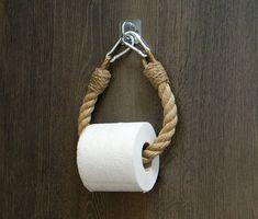 Seil Toilettenpapierhalter... Industrielle Ausstattung...
