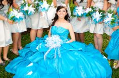 Daughter's Special day!  Court's Flower Bouquet were made  with  materials bought from Hobby Lobby.