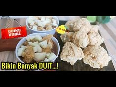 Food N, Food And Drink, Indonesian Cuisine, Snack Recipes, Snacks, Thumbprint Cookies, Street Food, Potato Salad, Recipies