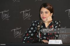 Martina Stoessel attends a photocall and press conference to promote the film 'Tini: El gran cambio de Violetta' at W Hotel - Mexico City on May 18, 2016 in Mexico City, Mexico.