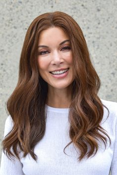 This clip-in human hair topper seamlessly adds volume and 18 inches of length at the front and crown. Hand-tied to a nearly invisible monofilament base and SmartLace front, this premium Remy human hair blends in undetectably, and can be heat-styled to create endless looks. Remy Human Hair, Human Hair Wigs, Boar Bristle Brush, Advanced Hair, Jon Renau, Hair System, Hair Toppers, Hair Again, Alternative Hair
