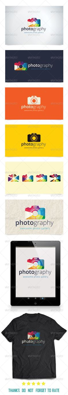 Photography  Logo Template #city #photography #news • Download ➝ https://graphicriver.net/item/photography-/7750150?ref=pxcr