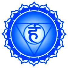 """This is the yantra for this week's chakra, the vishuddhi, or throat chakra.. The bija mantra for this chakra is HAM. SO HAM is a recognition of our breath that translates to """"That which I am, I am that."""" SO on the inhale - That which I am; HAM on the exhale - I am that! One breathe closer to alignment and vitality! Namaste!"""