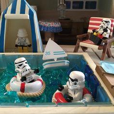 Pool. part2. プールパート2 #lego#legostormtrooper #trooper#stormtrooper#stormtroopers#legostagram #legominifigures#legophoto #legophotography#legostarwars by trooperrav
