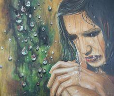 Oil Paint Romantic Series (Yağlıboya Romantic Seri) Romantic Series, Painting, Rain Fall, Art, Painting Art, Paintings, Painted Canvas, Drawings