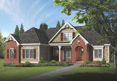 ePlans Cottage House Plan – Beautiful  and Charm - 2281 Square Feet and 4 Bedrooms from ePlans – House Plan Code HWEPL76573