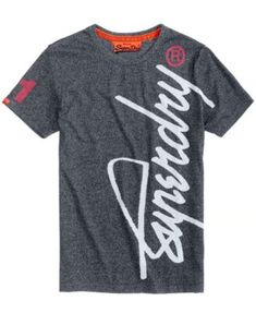 new arrival 1b06d 10dbc Superdry Men s Crew Athletic T-Shirt Men - T-Shirts - Macy s