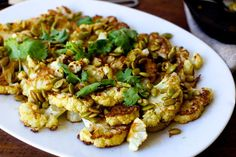 roasted cauliflower with pumpkin seeds, brown butter and lime – smitten kitchen