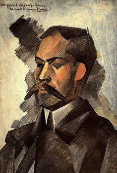Pablo Picasso. Portait of Manuel Pollares. 1909 year