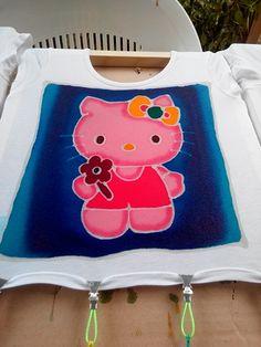 Batik t-shirts fille 4-6 ans
