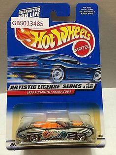 (TAS030953) - Mattel Hot Wheels Car - 1970 Plymouth Barracuda
